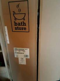 Bathstore liberty straight bath shower screen BNIB