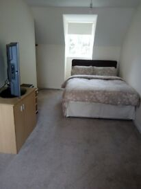 ONE VERY LARGE DOUBLE ROOM