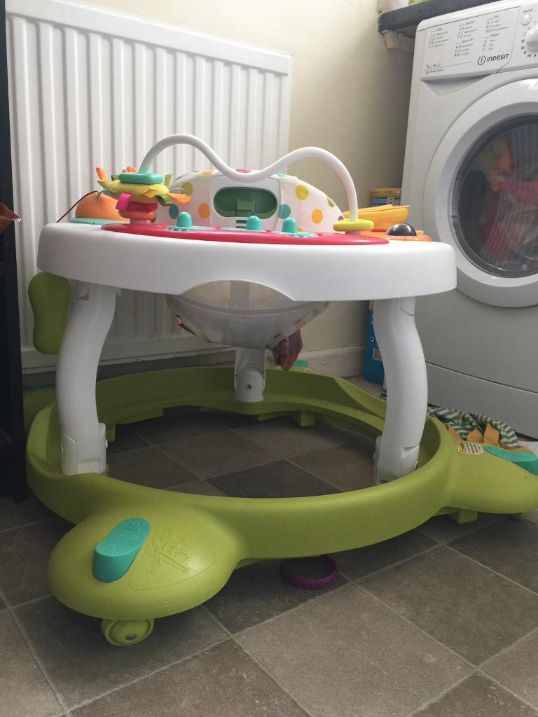 Mother care baby walker available for sale