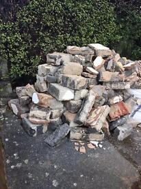Free to Collector: Concrete Blocks & Soil