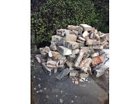 Free to Collector: Concrete Blocks & Soil