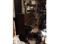 Skerratt upright piano, free (collection only)