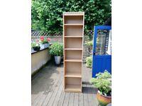 Oak bookshelf unit from John Lewis
