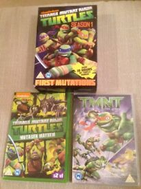 Ninja Turtle Dvds Bundle