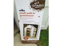 Wilko walk in greenhouse- brand new in box