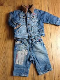 Tommy Hilfiger jeans suit