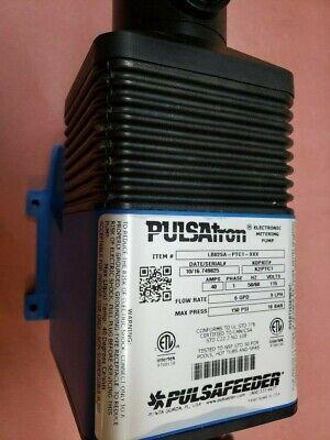 Pulsafeeder Diaphragm Metering Pump6 Gpd 150 Psi Pulsatron Lb02sa-ptc1-xxx