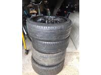 """Wolfrace 18"""" 5x100/5x112 alloys! £120 if gone by today!"""