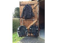 3 x motorcycle jacket furygan, frank thomas