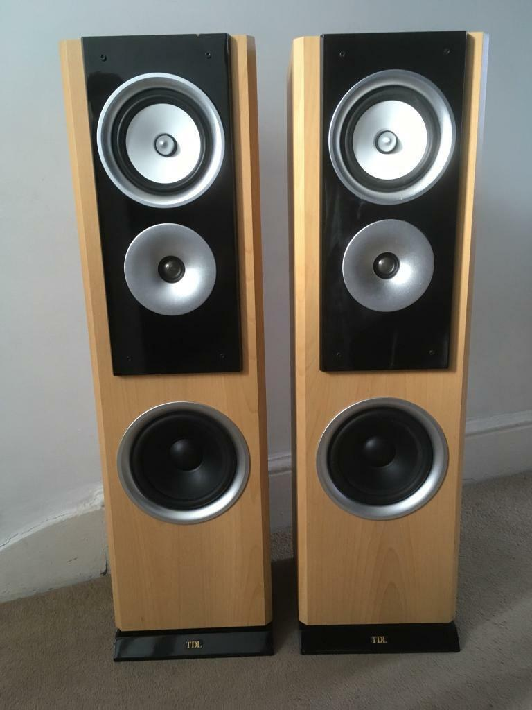 Tdl Studio 5 Floor Standing Speakers In Gravesend Kent