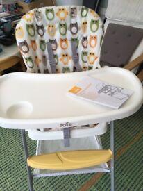 Mimzy Owl High Chair