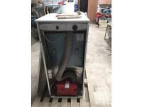 Oil central heating boiler