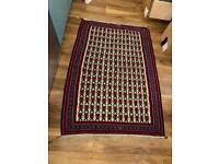 Shabby chic vintage Handmade Persian rug