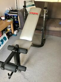 York Fitness 500 Folding Barbell Bench