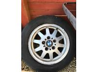 15 inch BMW Alloys from 3 series compact x2