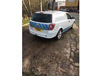 Vauxhall, ASTRAVAN, Car Derived Van, 2010, Manual, 1248 (cc)