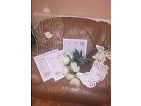 cream and white shabby chic collection