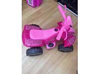 Roadsterz 6V Electric Ride On Pink Quad