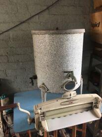 Vintage Acme Washing Tub Boiler / Garden Or Shop Decor Kitchenalia- CAN DELIVER