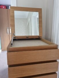 Malm Tall chest of drawers