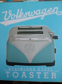 NEW VW Stainless Steel Toaster