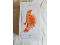 Excellent Condition - Iphone 6S Plus - 16gb - Rose Gold - Unlocked - No Contract.