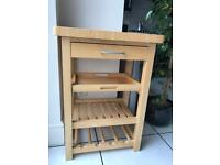 Butchers block unit