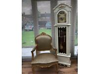 Stunning rococo style chair