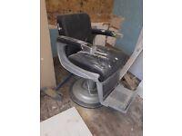 Belmont barber chair *repairs needed*
