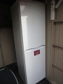 Hotpoint RFA52 Iced Diamond Fridge Freezer In White