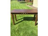 Large console/hall table