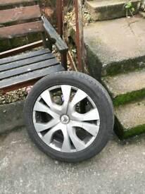 4x citron picasso 17 inch wheels