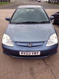 Honda Civic full mot