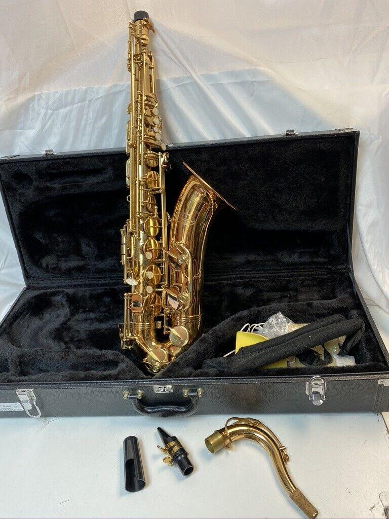 Palmer Tenor Paris Series Saxophone 203 With Case No Reserve -BEAUTIFUL- - $475.00