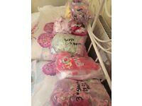 Pj bundles and sleep suits 0-3 month-18-24
