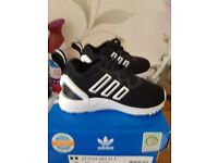 Baby boys adidas flux size 3 brand new