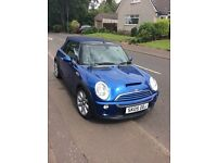 Low mileage Mini Cooper S Convertible / Cabriolet High Spec
