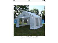 4mx4m Gala tent marquee original ( PE)