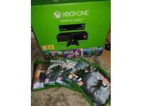 X box one 500gb with kinect