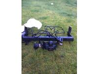 PCT tow bar with electrics / Rhino roof rack with roller