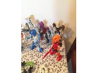 Large bionicle lot bundle lego