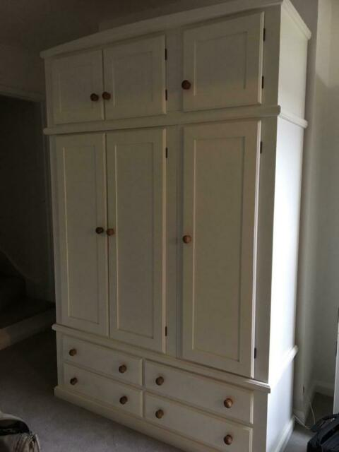 Large Wooden Freestanding Wardrobe In Netherfield Nottinghamshire Gumtree
