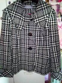 Sophie grey coat new without tags size 20