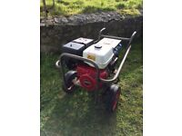 Honda 11 hp, 6kva generator, 240v, petrol, just serviced, only 4 hours use approx.