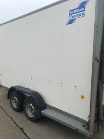 12 x 5 Ifor Williams trailer with ramp tailgate
