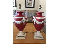 Ceramic ornate lamps