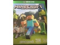 Minecraft xbox one edition brand new