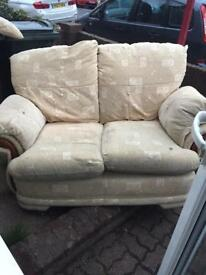 Free 1x 2 seater sofa