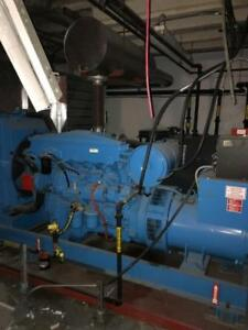 Mitsubishi 250 KW Generator, 600 Volts, Only 160  Hours, Model #: SPO250D3P