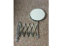 Extendable wall mirror - never been used